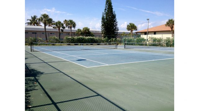 WR205 tennis courts